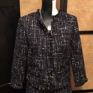 Gorgeous Ann Taylor tweed jacket, never worn